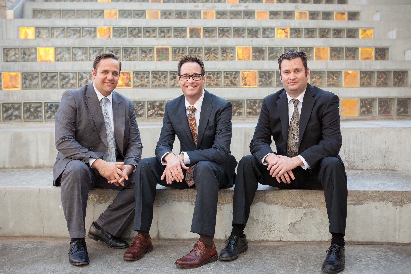 Dana Hogle, Nathan Hogle & Chris Stapley of Hogle Family Law in Chandler, Arizona.